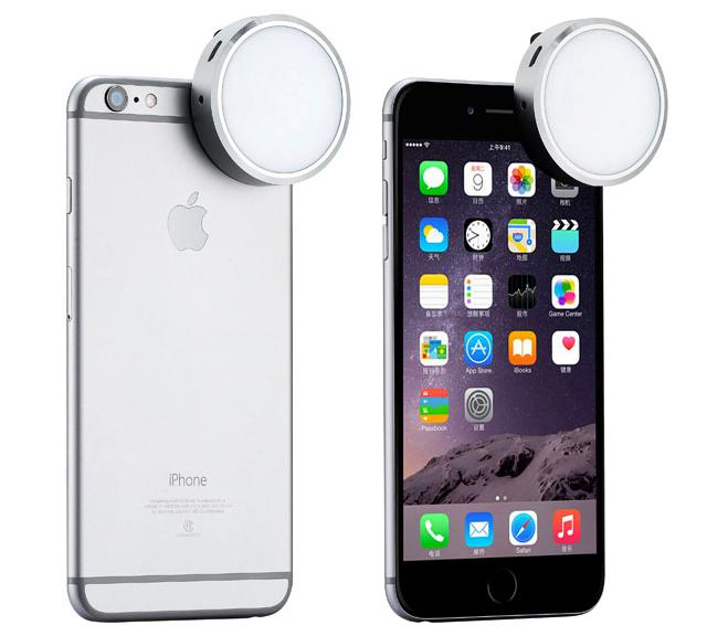 Automatický LED blesk a světlo YONGNUO YN06 pro iPhone